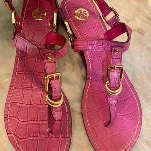 Tory Burch Pink Sandals
